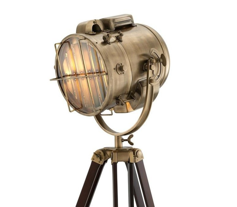 Stehlampe 'Atlantic' Braun