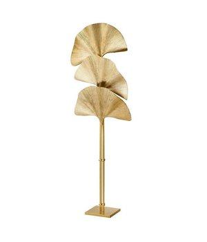 Eichholtz Floor Lamp 'Las Palmas' Polished Brass