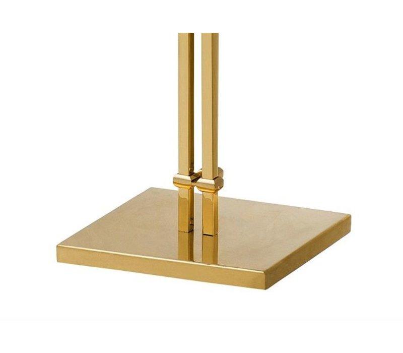Floor Lamp 'Las Palmas' Polished Brass