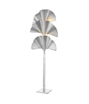 Eichholtz Floor Lamp 'Las Palmas' Tarnished Silver