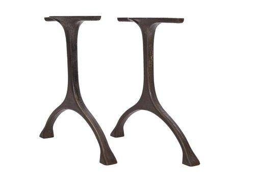 NORR11 Tafelpoten 'Maiden' Iron/Tall Raw