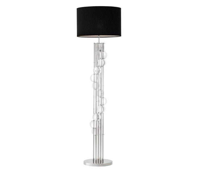 Vloerlamp 'Lorenzo' Silver