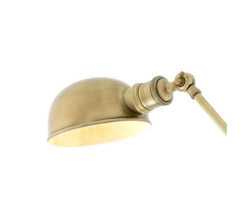 Tischlampe 'Soho' Antik Messing