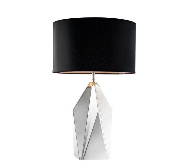 Table Lamp 'Setai' Nickel