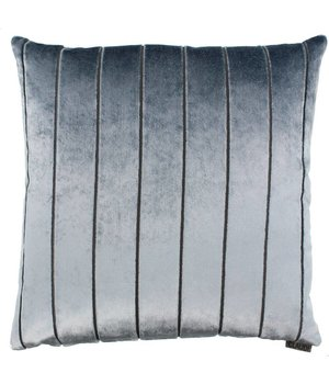 Claudi Cushion Bruno in color Iced Blue
