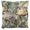 CLAUDI Chique Cushion Flamingo  color Olive