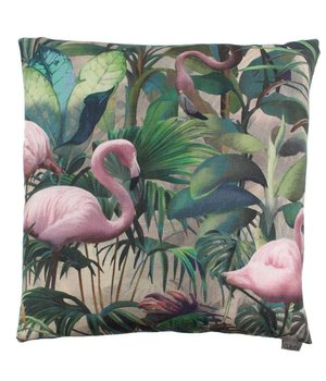 Claudi Cushion Flamingo  color Rose