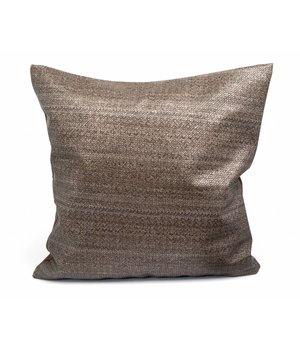 Dome Deco Cushion Tan in color Taupe