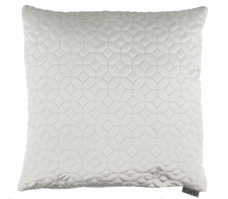Throw pillow Liviana Color Silver