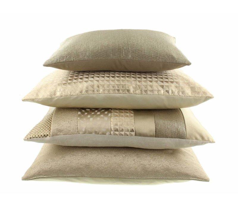 Throw pillow Maria Color Gold