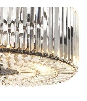 Eichholtz Chandelier Infiity gunmetal finish, diameter 53cm