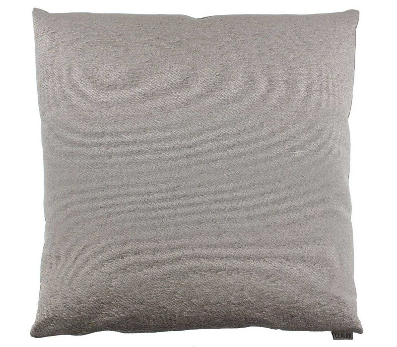 Throw pillow Mylo Color Taupe