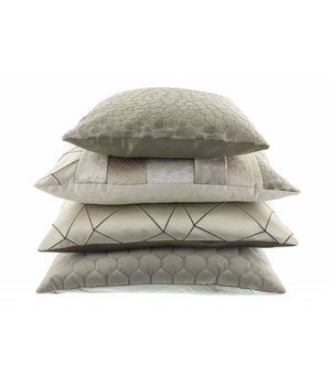 Claudi Cushion Pasqualle in color  Taupe