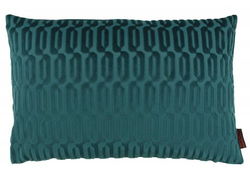 CLAUDI Design Cushion Thelma Emerald
