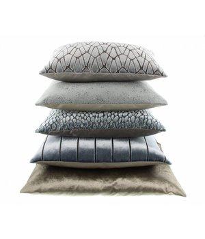 Claudi Cushion Rodolfo color Iced Blue