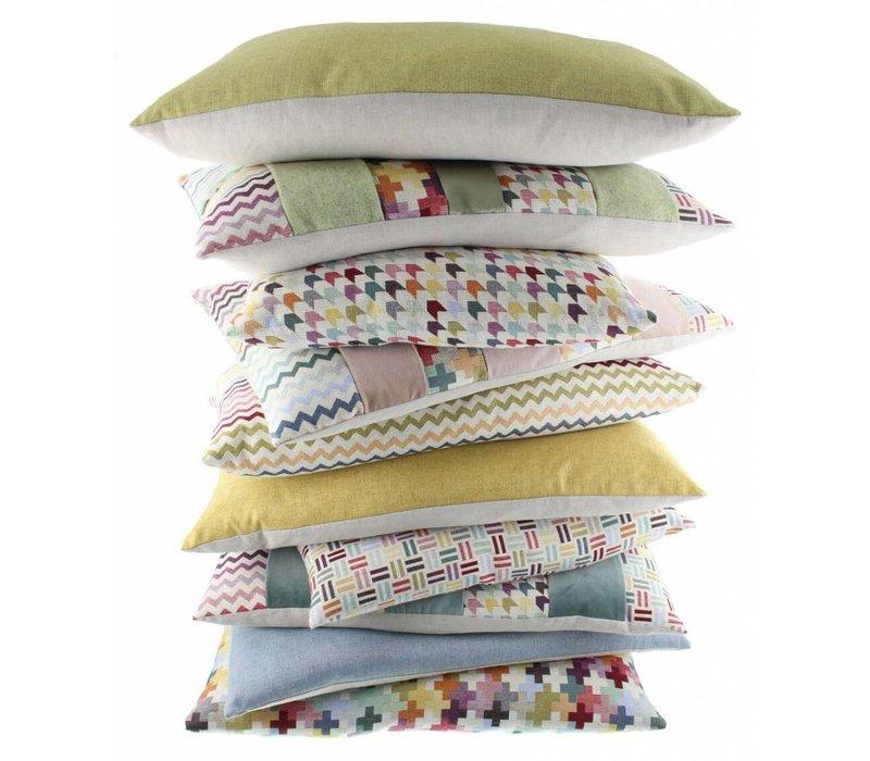 Cushion Kim in color Multicolor Light Rose