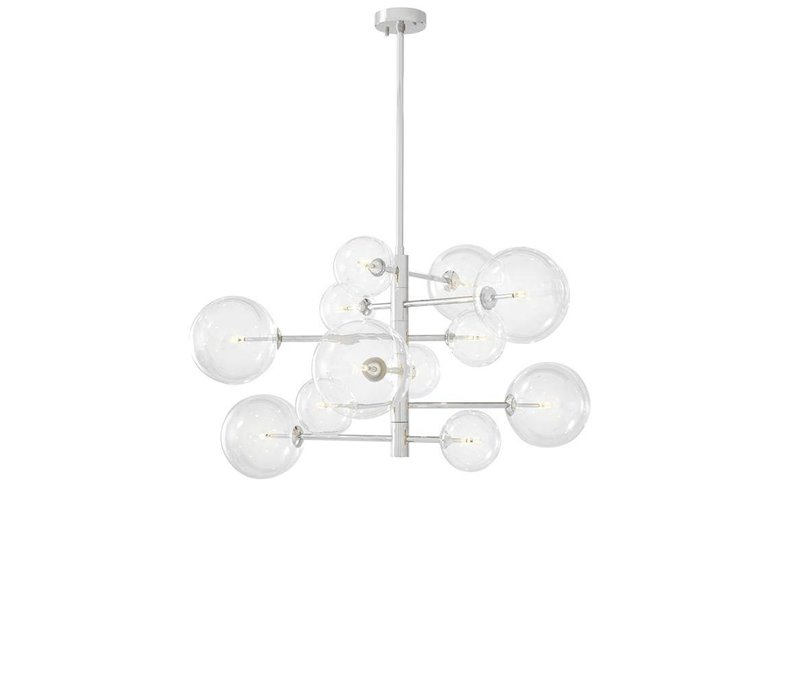 Chandelier Argento S met diameter 90cm