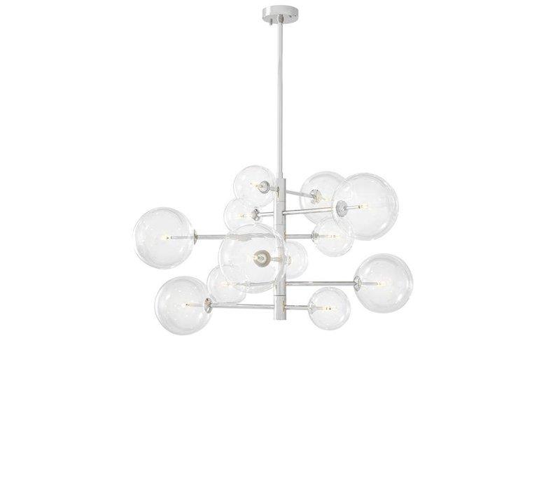 Chandelier Argento S mit 90cm Durchmesser