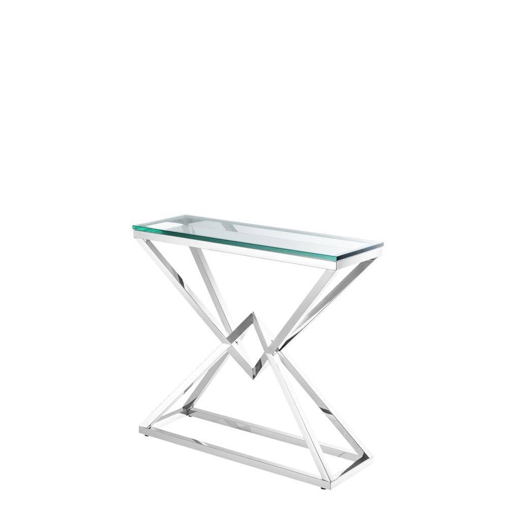 Konsolentisch glas connor wilhelmina designs - Glas konsolentisch ...