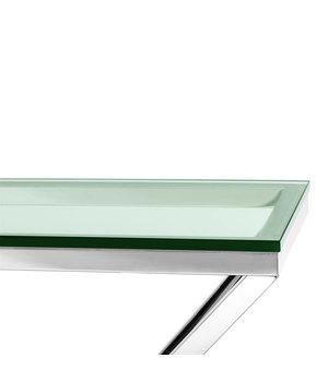 Eichholtz Konsolentisch Glas Connor, 90 x 30 x H. 82 cm