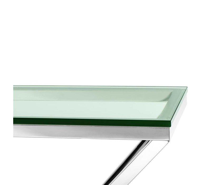 Konsolentisch Glas Connor, 90 x 30 x H. 82 cm