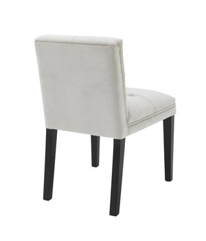 Eichholtz Dining chair black - Cesare Pebble Grey