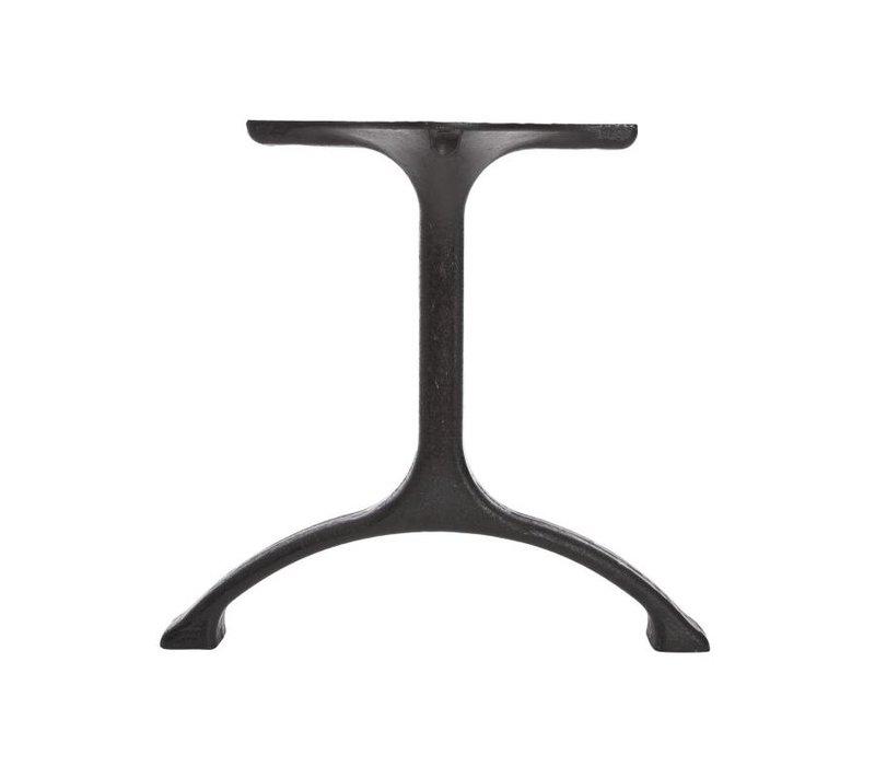 Table legs  'Maiden' Iron/Tall Matt Black