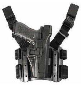 TAG-GEAR Blackhawk Style CQB Holster Set (Black, Glock 17/19/31)