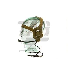 Z-Tactical Elite II Headset Foliage Green of Desert Color