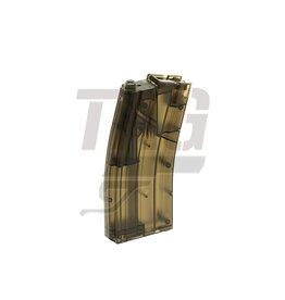 SRC Speedloader semi-transparant voor 470 BB`s in de vorm van M4 magazijn
