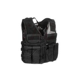 Invader Gear AK vest Black, OD of Coyote Brown