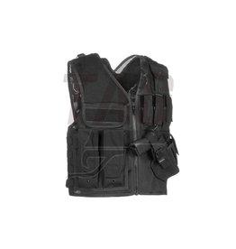 Invader Gear Mk.II Crossdraw Vest Black, OD of Coyote brown