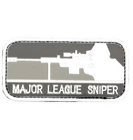 3D PVC Major League Sniper grey
