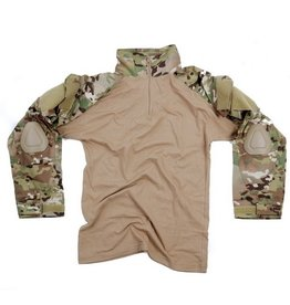101 inc Tactical shirt Dtc/multicamUBAC Warrior met elbow pads