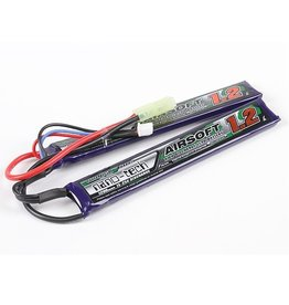 Turnigy Nano-tech 1200mah 2S 15~25C Lipo AIRSOFT duo Pack