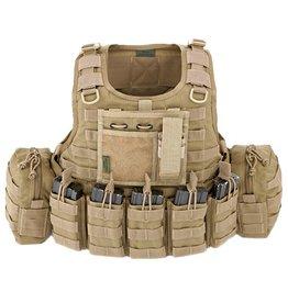 Warrior Assault Systeem RICAS COMPACT DA 5.56MM Coyote brown W-EO-RC-DA-5.56-CT