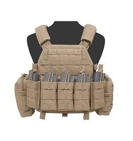 Warrior Assault Systeem DCS BASE M4 open Coyote brown W-EO-DCS-DA-5.56-M-CT W-EO-DCS-DA-5.56-L-CT