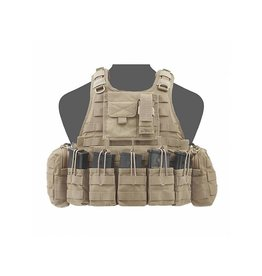 Warrior Assault Systeem RICAS COMPACT G36 open mags Coyote brown W-EO-RC-G36-CT