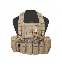 Warrior Assault Systeem 901 Elite M4 with Zip Coyote Tan W-EO-901-EL4-CT
