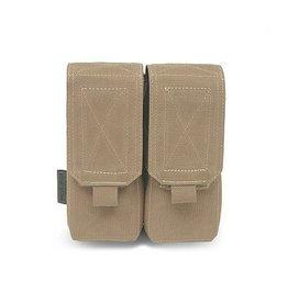 Warrior Assault Systeem Dubbel M4 5.56mm Mag Pouch / Non Slip Retention div kleuren W-EO-DM4