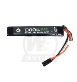 WE 1300mah 11.1v 20c Lipo Stick Type