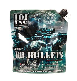 101 inc Airsoft extreme BBs 0,20g 6mm zak