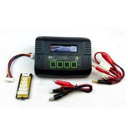WE SM4 Smart Battery Charger Li-Fe,Li-Po,NiMH,NiCd