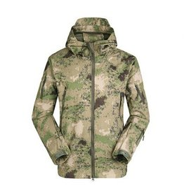 Camaleon Softshell windbreaker Foliage Green