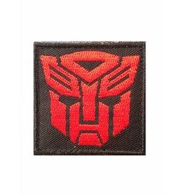 Camaleon Transformers Autobots Patch rood
