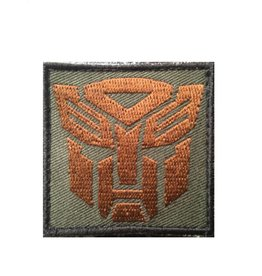 Camaleon Transformers Autobots Patch Camo, od brown