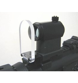 "Speed Airsoft Round Optic BB Shield 7,5cm 3"" #SA3089"