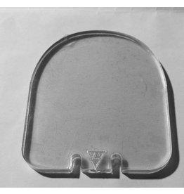 Camaleon Bescherm plaatje 37mm 3mm dik