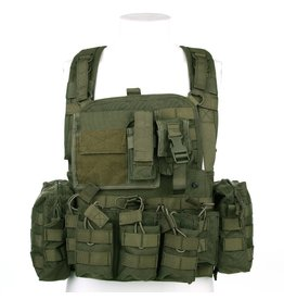 101 inc Chest rig Operator Black Coyote en OD