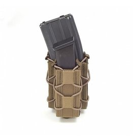 Warrior Assault Systeem MOLLE Single Quick Mag met pistol pouch Div Camo's W-EO-SQM-SP